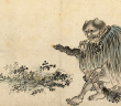 Der göttliche Landwirt Shen-nong – ein Mischwesen mit Büffelhörnern – wird als Urheber der TCM angesehen. © Guo Xu (1456–c.1529) – Telling Images of China (exhibit) / Dublin: Chester Beatty Library.