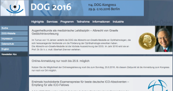 Website des DOG 2016 http://dog2016.dog-kongress.de/