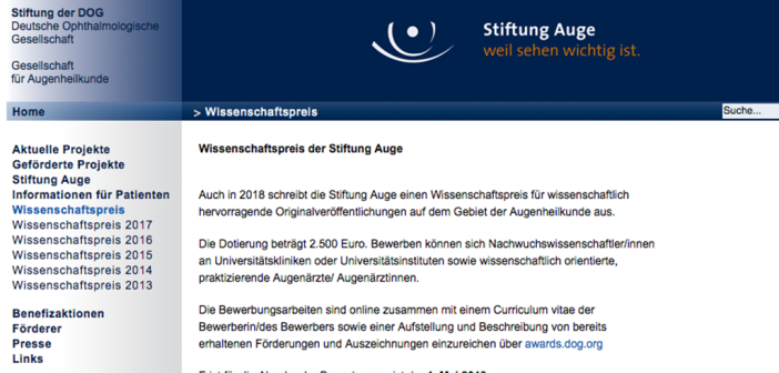Stiftung Auge