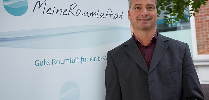 Thomas Schlatte, Plattformsprecher MeineRaumluft.at © MeineRaumluft.at