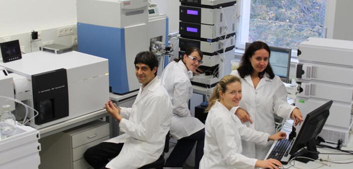 Bioanalytiker Christopher Gerner und sein Team entwickeln eine neue Analysemethode. © Universität WIen