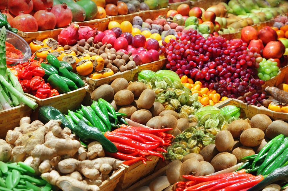 Sowohl Menge als auch Vielfalt spielen bei Obst und Gemüse für die Gesundheit eine große Rolle. © Adisa / shutterstock.com
