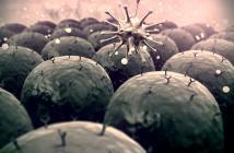 Wie die Grafik zeigt wird das menschliche Immunsystem ständig von Krankheitserregern attackiert. Ein durch innovative Mikroimmuntherapie starkes Immunsystem soll unseren Körper erfolgreich schützen. © UGREEN-3S / shutterstock.com