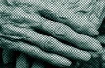 Alte Hand abstrakt dargestellt © www.afcom.at