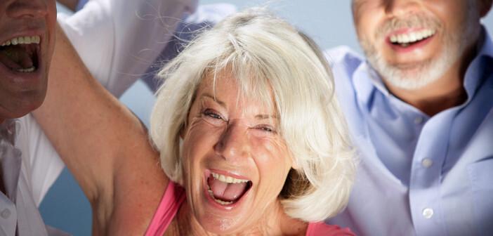 Glücklich Altern ist eine Frage der Einstellung. © auremar / shutterstock.com