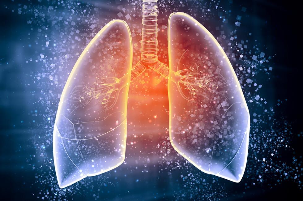 Die Atemtemperatur der Ausatemluft könnte künftig zur einfachen Diagnose von Lungenkrebs herangezogen werden. © Sergey Nivens / shutterstock.com