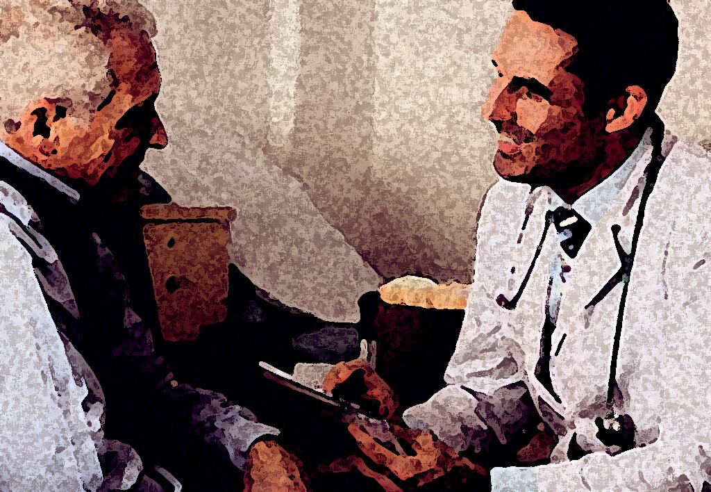 Die Arzt-Patient-Kommunikation hat enorme Bedeutung für den Verlauf der Behandlung.