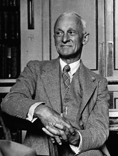 Das Cushing Syndrom ist nach dem US-amerikanischen Neurologen und Chirurgen Harvey Williams Cushing benannt. © Wellcome Library, London / 4.0 International / Creative Common BY 4.0