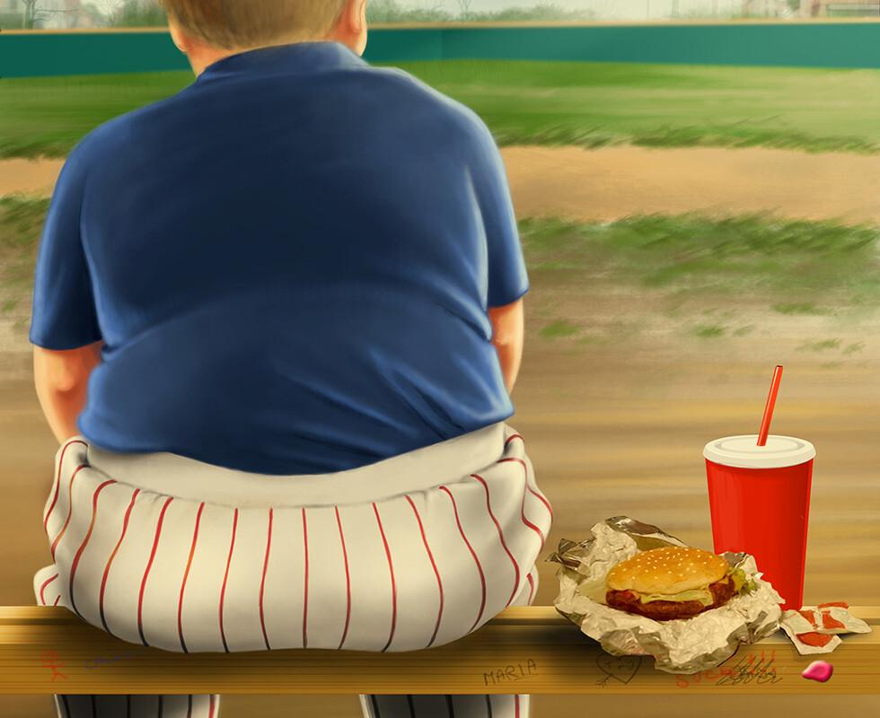 40% der Jugendlichen, die zu dick waren, hatten ihr Gewicht als richtig beschrieben. © The Turtle Factory / shutterstock.com