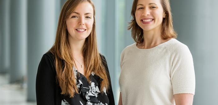 Dr. Marta Zamroziewicz und Dr. Rachael Rubin haben festgestellt, dass die kognitive Flexibilität durch die Anwendung von DHA und EPA verbessert werden kann. © L. Brian Stauffer