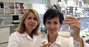 Erika Jensen-Jarolim und Franziska Roth-Walter bei der Entschlüsselung der allergischen Reaktion. @ Erika Jensen-Jarolim / Vetmeduni Vienna