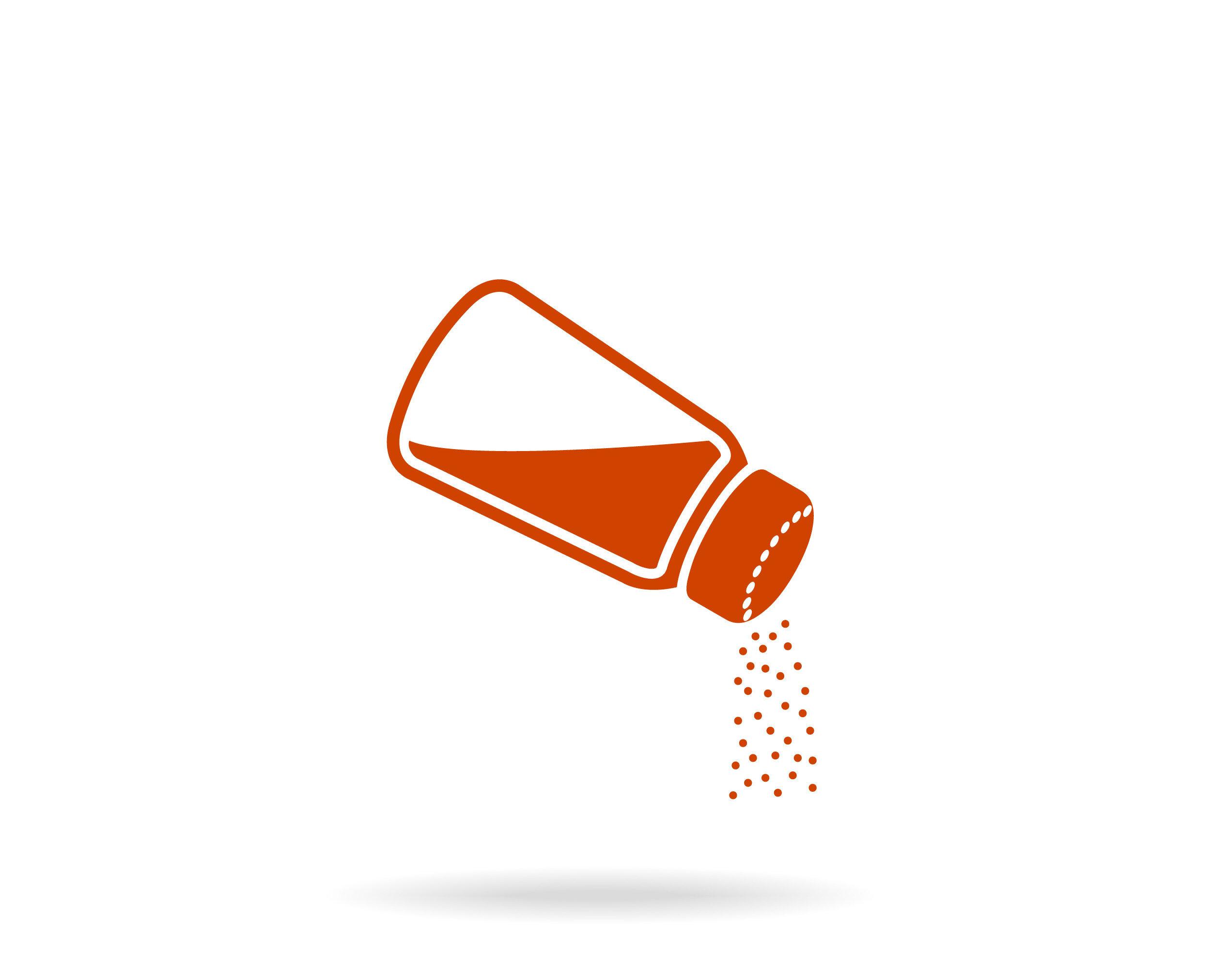 Salz ist lebenswichtig, doch auf die Menge kommt es an. Der Zusammenhang von Salz und Bluthochdruck ist vielen bekannt. © VectorDesigner / shutterstock.com