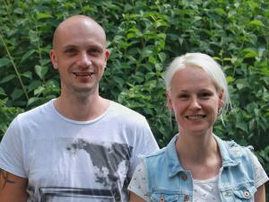 Erst- und Seniorautoren der Publikation: (v.l.) Dr. Benedikt Linder, Dr. Anja Uhmann.