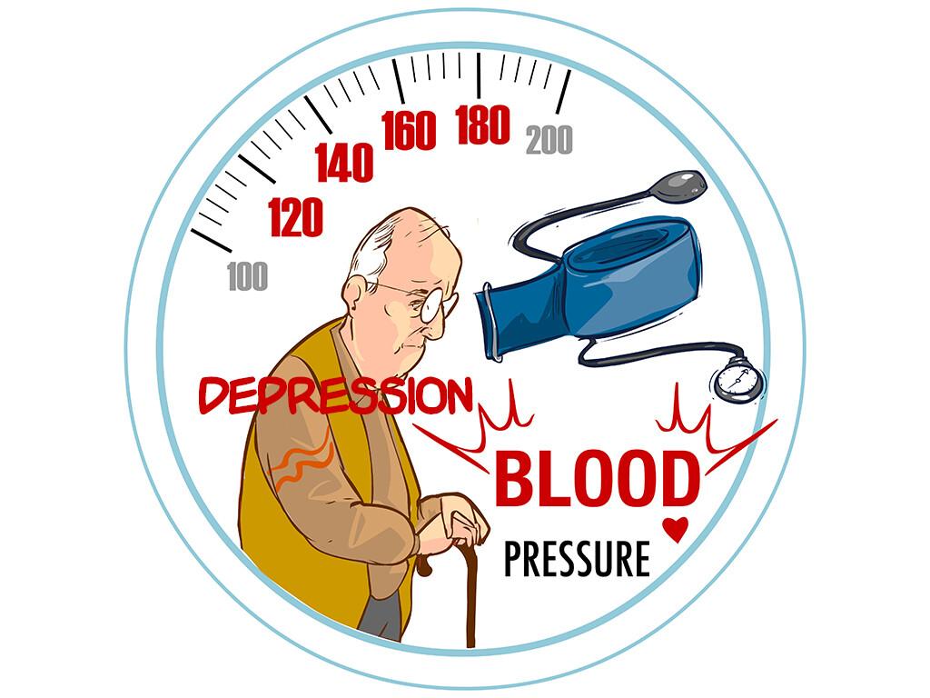 Die Zusammenhänge zwischen Depression und Bluthochdruck sind Gegenstand aktueller Forschung mit unterschiedlichen physiologischen Theorien. © corbac40 / shutterstock.com