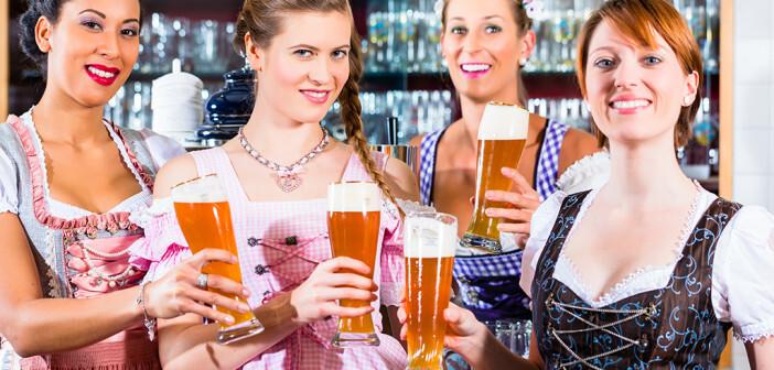 Das moderates Bier trinken gesund ist, wurde nun speziell für Frauen bestätigt. © CroMary / shutterstock.com