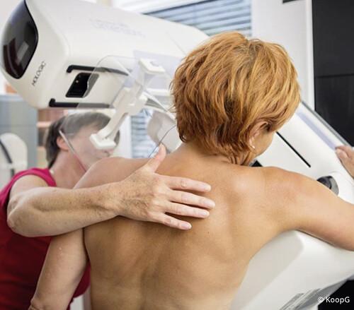 Mammographie-Untersuchung © KoopG