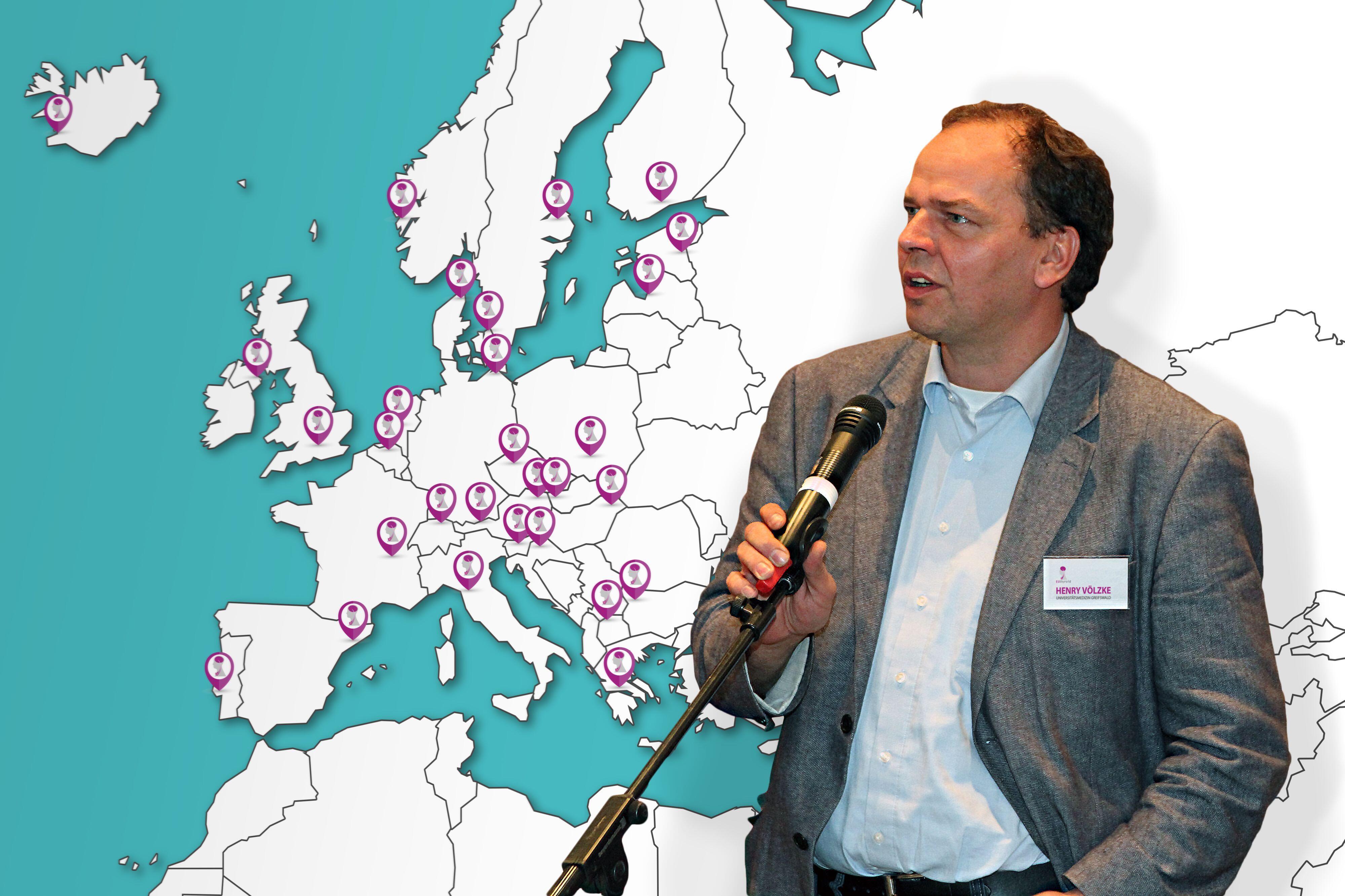 Prof. Henry Völzke koordiniert die europäische Studie. © UMG/Hausmann