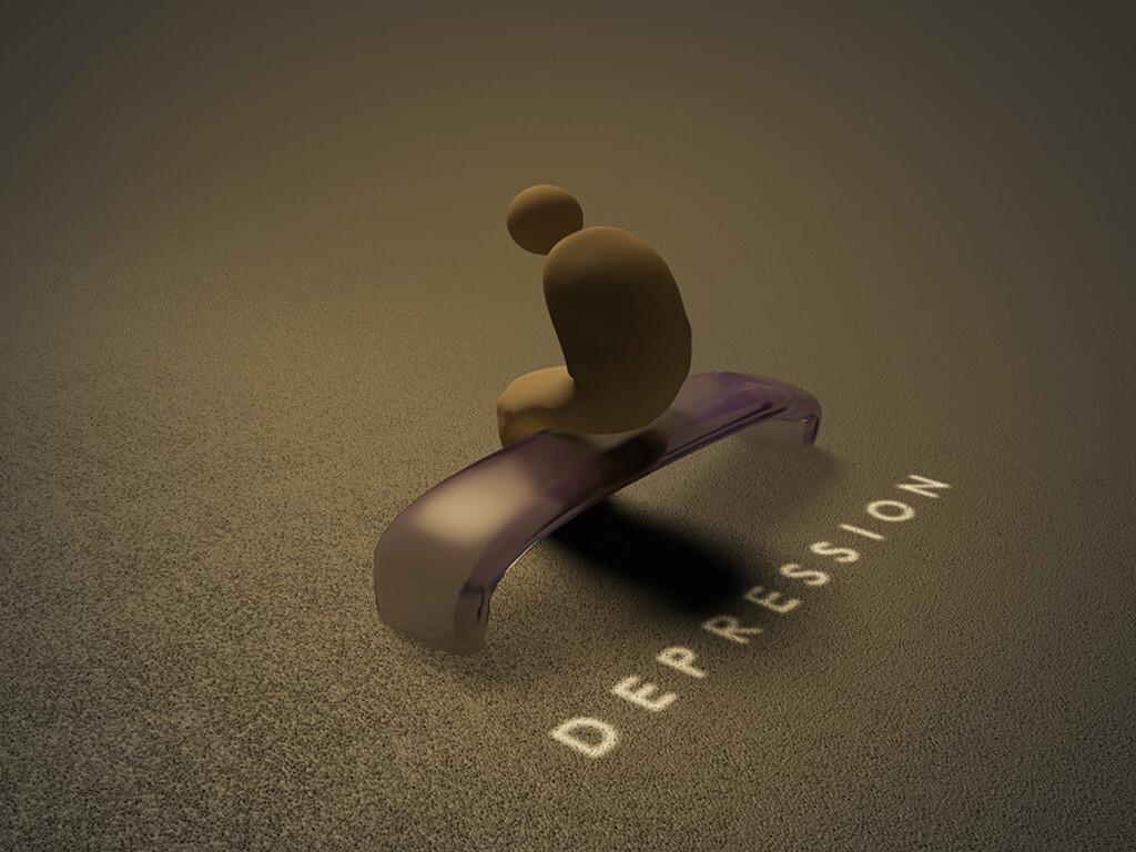 Herzinsuffizienz und Depression treten sehr häufig gemeinsam auf und erhöhen das Sterberisiko. © Anuska k / shutterstock.com