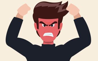 Depression bei Männern ist häufig mit Aggressivität, Ärger-Attacken, vergesellschaftet. © Johavel / shutterstock.com