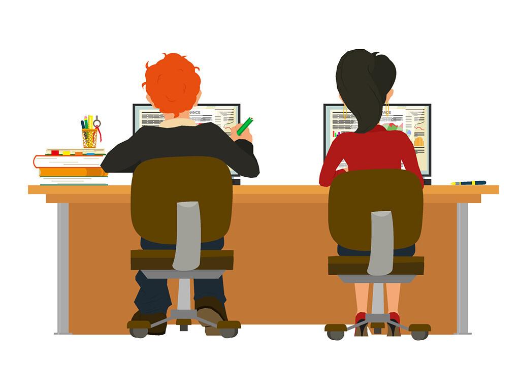 Dass Lang still sitzen und zu wenig Bewegung ungesund ist, ist lange kein Geheimnis mehr. © Iuliia Makarova / shutterstock.com