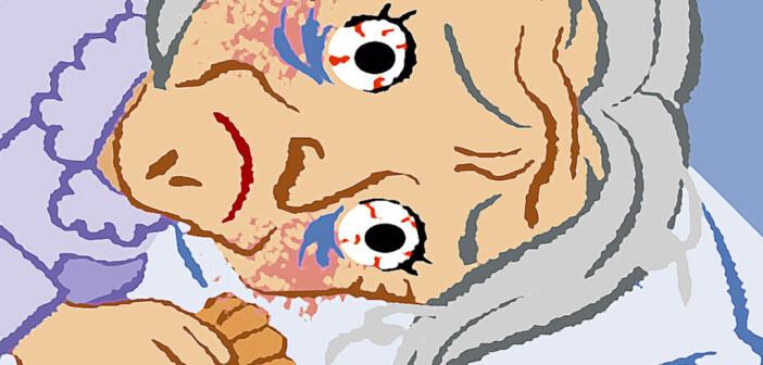 Typisch für eine Altersdepression ist das grüblerische Denken, der Schlaf ist oft durch viele Wachphasen gestört. © sayu / shutterstock.com