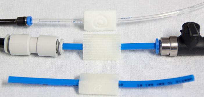 Mithilfe der aufpumpbaren Kissen wird NiLiBoRo bei der Operation fixiert. © Fraunhofer IPA