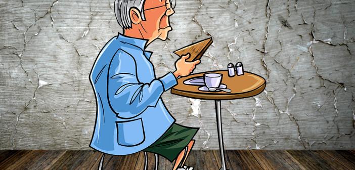 An eine Appetitlosigkeit bei älteren Menschen sollte in der Behandlung bzw. Betreuung unbedingt gedacht und auch danach gefragt werden. © Anton Brand / PongMoji / shutterstock.com