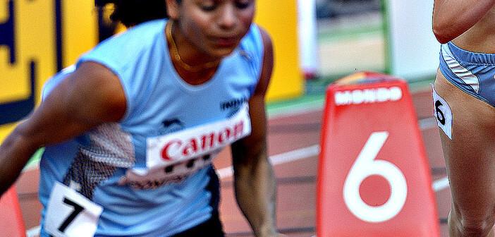 Hohes Testosteron bei Frauen kein Grund für eine Sperre: Dutee Chand darf und wird im Kommenden Jahr in Rio bei der Olympiade antreten. © Lilyana Vynogradova / shutterstock.com