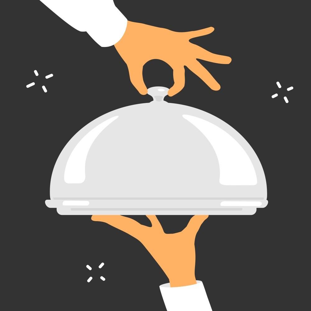 Eine neue Studie zeigt, dass Gäste, die ihr Abendessen bei schwereren Kellnerinnen oder Kellnern bestellten, viermal häufiger ein Dessert und um 17% mehr Alkohol bestellten. © JoeBakal / shutterstock.com