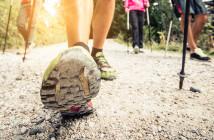 Sport bei COPD könnte schon in Form von 15 bis 30 Minuten täglichem schnelleren Spazierengehen oder Nordic Walking reichen, um den Krankheitsverlauf der Patienten positiv zu beeinflussen. © oneinchpunch / shutterstock.com