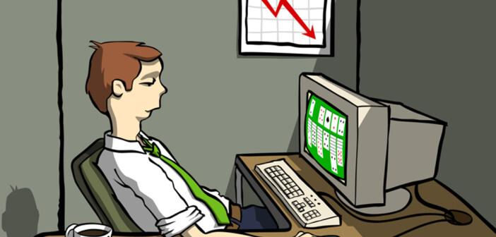 Statt anstehende Aufgaben zu erledigen, widmen sich Menschen mit Prokrastination Ersatzhandlungen, die häufig weniger wichtig und manchmal auch unsinnig sind. © Mike Elliott / shutterstock.com