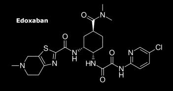 Strukturformel von Edoxaban