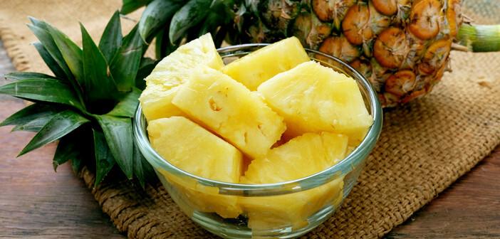 Die Ananas Wirkung hilft der Verdauung sowie beim Entschlacken und Entgiften. © rattiya lamrod / shutterstock.com