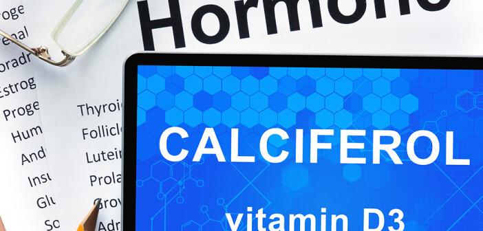 Calcitriol – Cholecalciferol, Vitamin D3 – hilft bei der vaskulären Reparatur. © designer491 / shutterstock.com