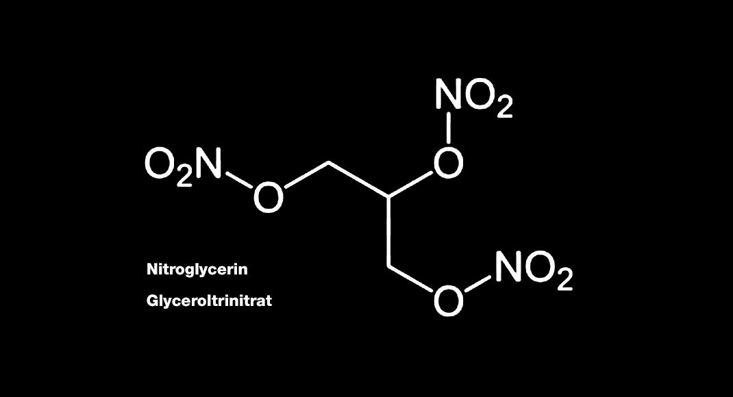 Glyceroltrinitrat – Nitroglycerin – senkt als Salbe den Sphinktertonus und verbessert die Durchblutung des betroffenen Gewebes.