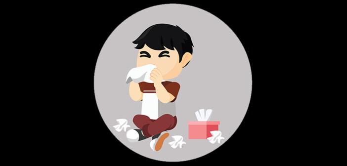 Influenza bei Kindern verursacht nach der üblichen Inkubationszeit von ein bis zwei Tagen ein ähnliches Krankheitsbild wie bei Erwachsenen. © Fun Way Illustration / shutterstock.com