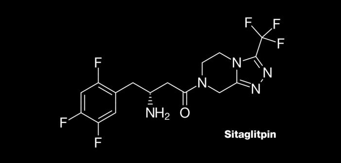 Sitagliptin – Januvia –ist ein sogenannter Dipeptidyl-Peptidase-4-Inhibitor bei Typ-2-Diabetes.