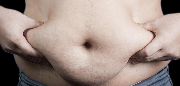 Ein metabolisches Syndrom zeigt als Teilaspekt vermehrtes, viszerales Bauchfett, das Testosteron-Mangel zur Folge haben kann. © Bangkokhappiness / shutterstock.com