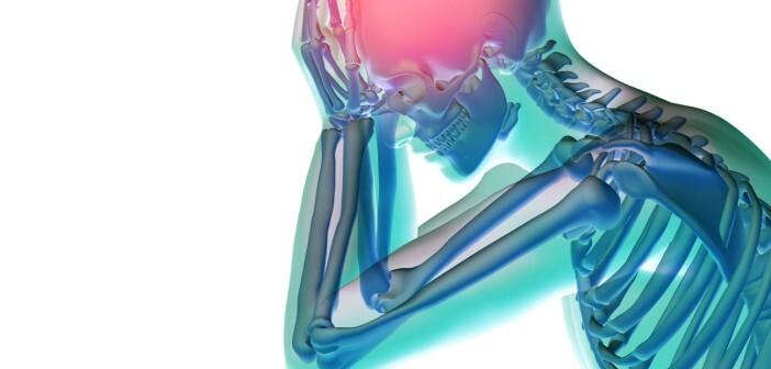 Migräne ist eine verbreitete Kopfschmerzerkrankung. © shutterstock.com / illustrart