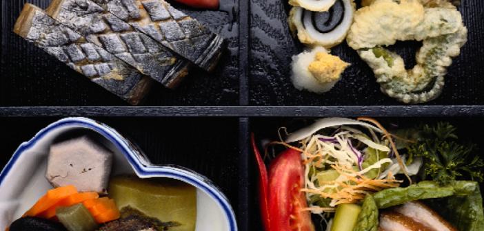 Roher Fisch, rohes Fleisch und Gemüse voll im Trend.