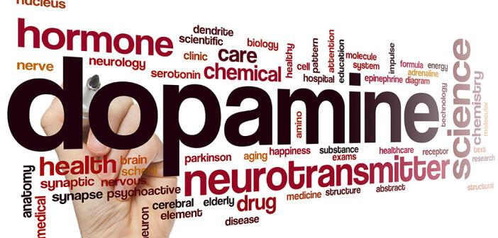 Glückshormon Dopamin: zu wenig oder zu viel vom Neurotransmitter ist schlecht. © ibreakstock / shutterstock.com