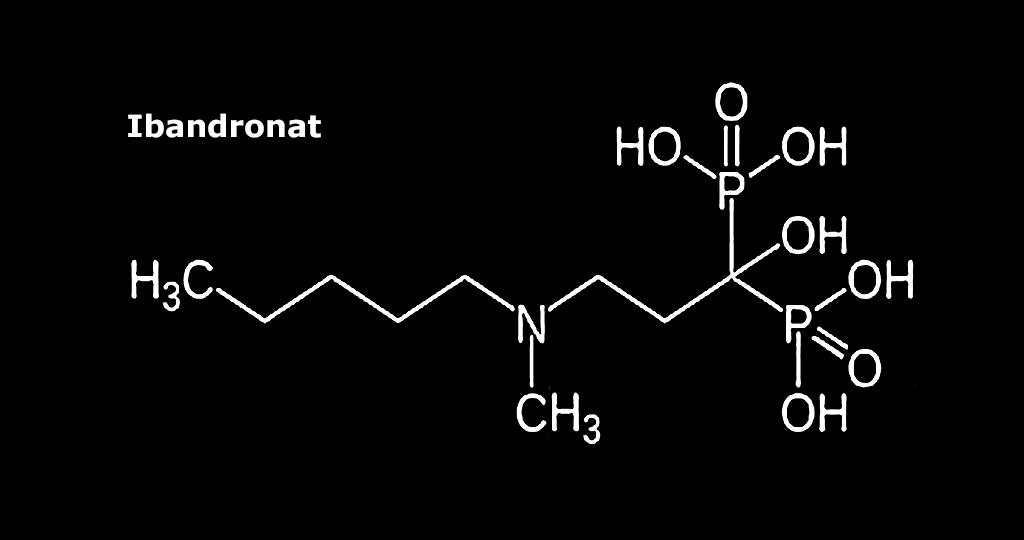 Ibandronat ist ein Wirkstoff aus der Gruppe der Bisphosphonate.