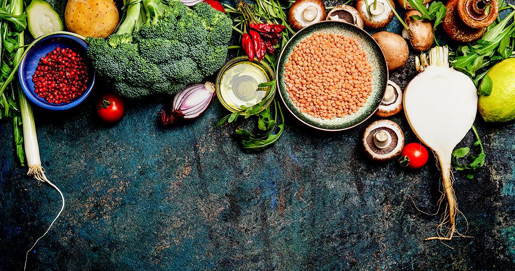 Für vegane Ernährung wird oft auch aufgrund geschmacklicher Aspekte entschieden. © vicuschka / shutterstock.com