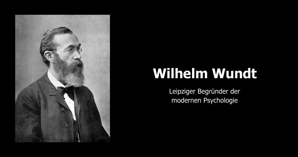 Wilhelm Wundt. Quelle: Wikimedia