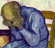 Nicht wegschauen: Depressive Störungen im Alter müssen erkannt werden. © Ausschnitt: Vincent van Gogh, 1890 / wikimedia