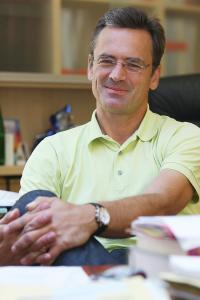 Prim. Univ.-Prof. Dr. Michael Studnicka, Univ.-Klinik für Pneumologie, Portrait, SALK, PMU, Salzburger Landeskliniken, Salzburg 02.09.2008 Foto: wildbild/ Sandra Hallinger