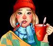 Erkältung (grippaler Infekt), Schnupfen, Husten und Grippe © shumo4ka / shutterstock.com