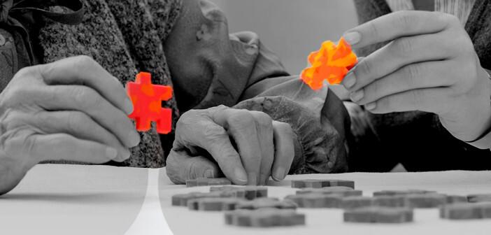 Montessori für Senioren bei Demenz eine interessante Alternative. © alexander raths / shutterstock.com