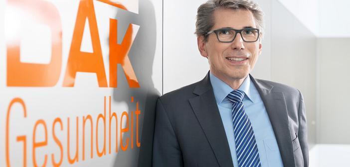 Der frühere saarländische Gesundheitsminister Andreas Storm übernimmt am 1. Januar 2017 den Vorstandsvorsitz der DAK-Gesundheit. © DAK-Gesundheit / Wigger
