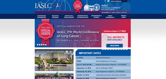 Der WCLC 2016 findet vom 4. bis 7. Dezember in Wien statt.